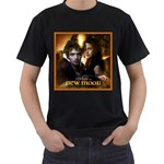 NEW TWILIGHT NEW MOON RARE HOT BLACK T-SHIRT