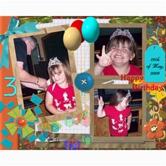 8x10 Collages   Maddie s 3rd Bday By Rubylb   Collage 8  X 10    W31pdw9f9a9s   Www Artscow Com 10 x8 Print - 1