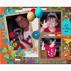 8x10 Collages   Maddie s 3rd Bday By Rubylb   Collage 8  X 10    W31pdw9f9a9s   Www Artscow Com 10 x8 Print - 2