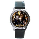 NEW TWILIGHT NEW MOON ROUND METAL WATCH