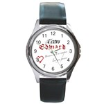 NEW TWILIGHT TEAM EDWARD HOT ROUND METAL WATCH