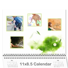 Nature Calendar By Wood Johnson   Wall Calendar 11  X 8 5  (12 Months)   Msh63k1uue0y   Www Artscow Com Cover