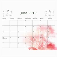 Nature Calendar By Wood Johnson   Wall Calendar 11  X 8 5  (12 Months)   Msh63k1uue0y   Www Artscow Com Jun 2010