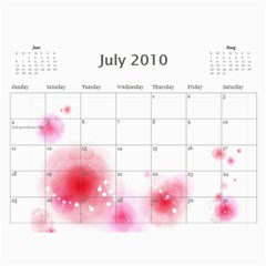 Nature Calendar By Wood Johnson   Wall Calendar 11  X 8 5  (12 Months)   Msh63k1uue0y   Www Artscow Com Jul 2010