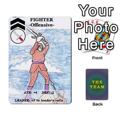 The Team Cards By Tyler Sandersfeld   Playing Cards 54 Designs   Zg1b5r1v9sq5   Www Artscow Com Front - Spade2