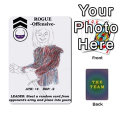 The Team Cards By Tyler Sandersfeld   Playing Cards 54 Designs   Zg1b5r1v9sq5   Www Artscow Com Front - Club9