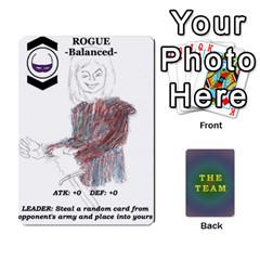 The Team Cards By Tyler Sandersfeld   Playing Cards 54 Designs   Zg1b5r1v9sq5   Www Artscow Com Front - Club10