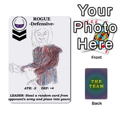 Ace The Team Cards By Tyler Sandersfeld   Playing Cards 54 Designs   Zg1b5r1v9sq5   Www Artscow Com Front - ClubA