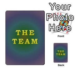 The Team Cards By Tyler Sandersfeld   Playing Cards 54 Designs   Zg1b5r1v9sq5   Www Artscow Com Back