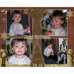 Maddie  07 Christmas 8x10 Collages - Collage 8  x 10