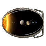 Parade-of-the-Planets Belt Buckle