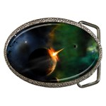 Space Art Wallpapers 03 Belt Buckle