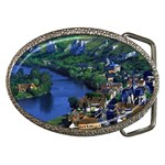 River Seine, France Belt Buckle