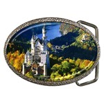 Neuschwanstein Castle, Bavaria, Germany Belt Buckle