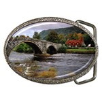 Llanrwst Bridge Belt Buckle