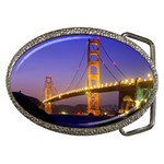 Golden Gate Bridge From Baker Beach, San Francisco, California Belt Buckle