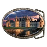 Chambord Castle, Loir-et-Cher, France Belt Buckle