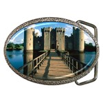 Bodiam Castle and Bridge Belt Buckle
