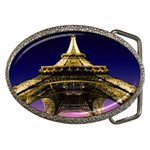 Beneath the Eiffel Tower, Paris, France Belt Buckle
