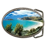 Anaura Bay, Gisborne, New Zealand Belt Buckle