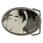 Ase_o_fuku_onna2 copy Belt Buckle