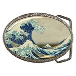 Great_Wave_off_Kanagawa2 -2 Belt Buckle