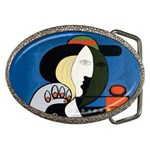 picasso_woman_b Belt Buckle