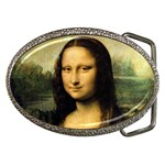 Mona_Lisa Belt Buckle