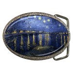 Starry_Night_Over_the_Rhone Belt Buckle