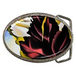 pattern of leaves Belt Buckle