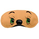 mask green eyes 09 - Sleeping Mask