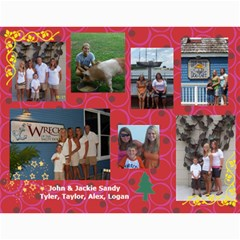 2010 Sandy Family Calendar By Jill Coston   Wall Calendar 11  X 8 5  (12 Months)   Wws5sf418nqb   Www Artscow Com Month