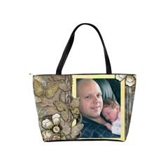 Amelia Handbag By Catvinnat   Classic Shoulder Handbag   93c952an5v2a   Www Artscow Com Back