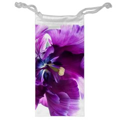 Purple Tulip By Alana   Jewelry Bag   Heo869bpewqd   Www Artscow Com Front