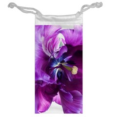 Purple Tulip By Alana   Jewelry Bag   Heo869bpewqd   Www Artscow Com Back