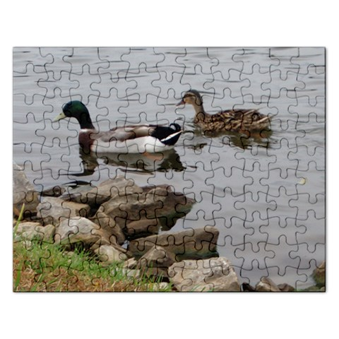 Ducks Puzzle 1 By Veronica Beaudry   Jigsaw Puzzle (rectangular)   6y6uev60agp3   Www Artscow Com Front