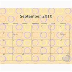 Mary s Calendar 2010 By Mary   Wall Calendar 11  X 8 5  (12 Months)   9akydngszmzz   Www Artscow Com Sep 2010