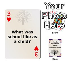 Family Question Card Game By Laurrie   Playing Cards 54 Designs   07o1lmsev80p   Www Artscow Com Front - Heart3
