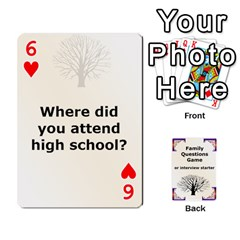 Family Question Card Game By Laurrie   Playing Cards 54 Designs   07o1lmsev80p   Www Artscow Com Front - Heart6
