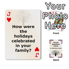 Jack Family Question Card Game By Laurrie   Playing Cards 54 Designs   07o1lmsev80p   Www Artscow Com Front - HeartJ