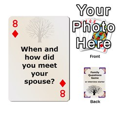 Family Question Card Game By Laurrie   Playing Cards 54 Designs   07o1lmsev80p   Www Artscow Com Front - Diamond8