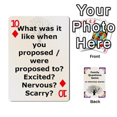 Family Question Card Game By Laurrie   Playing Cards 54 Designs   07o1lmsev80p   Www Artscow Com Front - Diamond10
