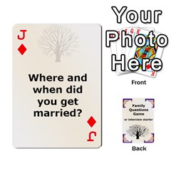 Jack Family Question Card Game By Laurrie   Playing Cards 54 Designs   07o1lmsev80p   Www Artscow Com Front - DiamondJ