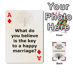 Ace Family Question Card Game By Laurrie   Playing Cards 54 Designs   07o1lmsev80p   Www Artscow Com Front - DiamondA