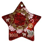 Star candy cane Christmas ornament - Ornament (Star)
