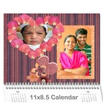 Calendar 2009 - Wall Calendar 11  x 8.5  (12-Months)