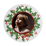 round wreath ornament  - Ornament (Round)