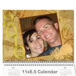 shawn 2010 - Wall Calendar 11  x 8.5  (12-Months)