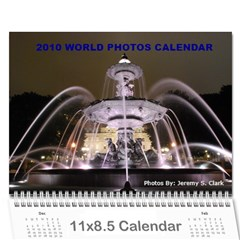 World Photos Calendar 2010 By Jeremy Clark   Wall Calendar 11  X 8 5  (12 Months)   99wzqwdu6ksc   Www Artscow Com Cover