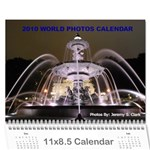 World Photos Calendar 2010 - Wall Calendar 11  x 8.5  (12-Months)